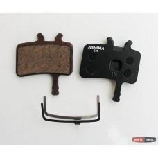 Дисковые тормозные вело колодки ASHIMA для HAYES HFX; MX-1; PROMAX IMPERIAL