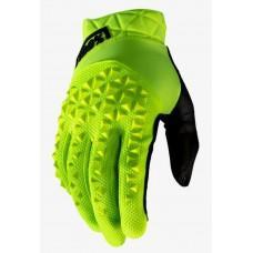 Вело перчатки Ride 100% GEOMATIC Glove [Fluo Yellow], L (10)