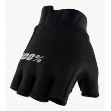 Вело перчатки Ride 100% EXCEEDA Gel Short Finger Glove [Black], L (10)