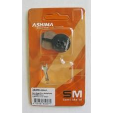 Дисковые тормозные вело колодки ASHIMA для AVID BB5 полуметалл