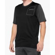 Вело джерси Ride 100% RIDECAMP Jersey [Charcoal Black], XL