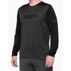 Вело джерси Ride 100% RIDECAMP Long Sleeve Jersey [Charcoal], M