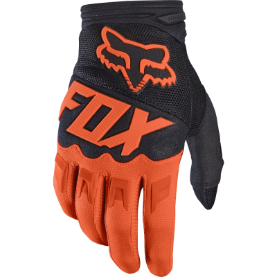 Перчатки Fox Dirtpaw Race Gloves оранжевые