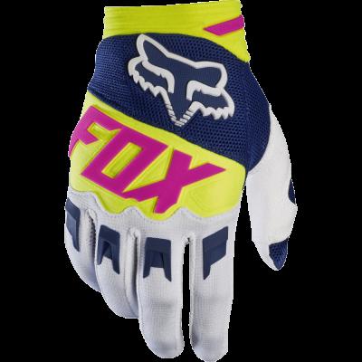 Перчатки Fox Dirtpaw Race Gloves белые