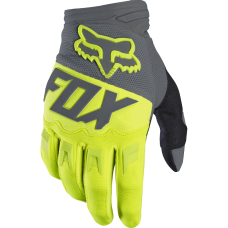 Перчатки Fox Dirtpaw Race Gloves желтые
