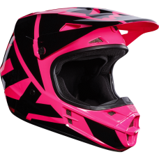 Шлем FOX V1 Race Helmet розовый