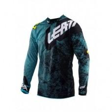 Мото джерси LEATT Jersey GPX 4.5 Lite Tech Blue, M
