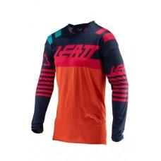Мото джерси LEATT Jersey GPX 4.5 X-Flow Inked/Red, M