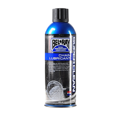 Мото смазка цепи Bel-Ray Super Clean Chain Lube 400ml
