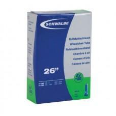 Камера Schwalbe AV12B 26-27.5x3 / 4-1.10 (20 / 25-584 / 590) AV 40мм (для тележек)