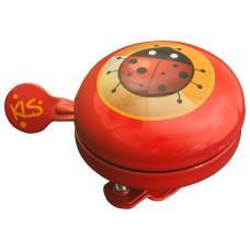 Звонок на руль KLS Bell 60 Kids красный