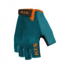 Рукавички короткий палець KLS Factor 021 блакитний L