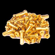 Ниппеля FireEye 14mm 38 шт. Золотые