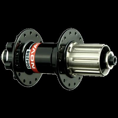 Втулка задняя Novatec D042SB-SS 135x9mm под диск черная